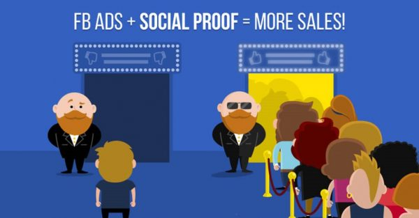 Prova Social no Facebook